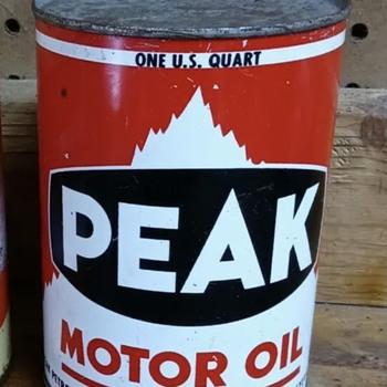 Newest cool oil quart  - Petroliana
