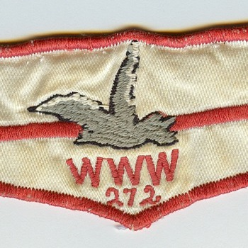 Boy Scout Order of the Arrow Wewanoma 272 First Flap