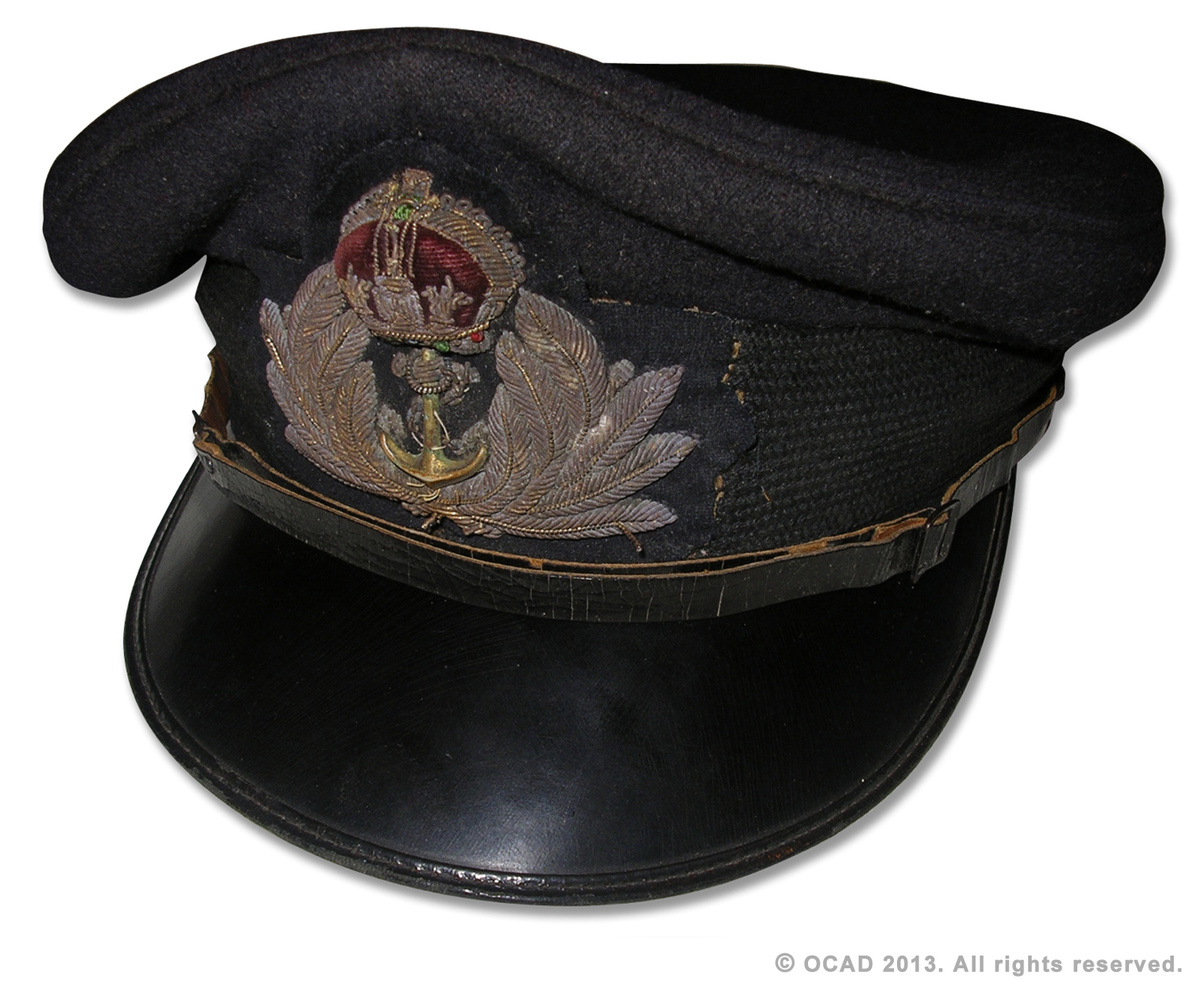 WW2 Royal Navy Officers visor cap | Collectors Weekly