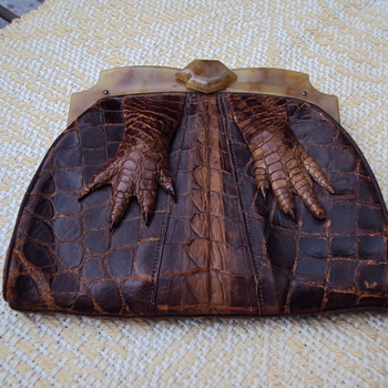 Alligator and Tortoise Flapper Clutch? - Bags