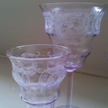 my beautiful Balda glasses - Glassware