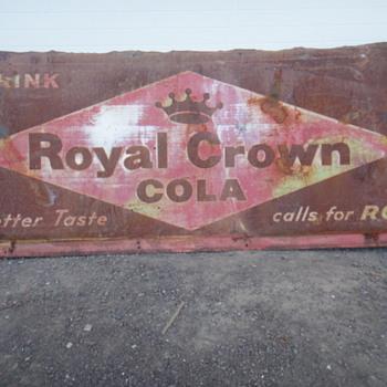 Royal Crown Cola - Signs
