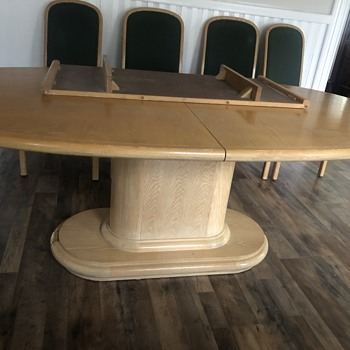 Table and chairs  - Furniture