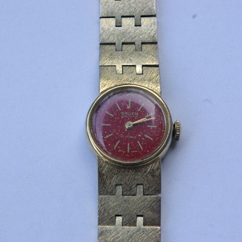 Vintage Gruen Ladies Wristwatch - Wristwatches