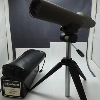 BUSHNELL COMPETITOR R20199 & BUSHNELL Telescope Tripod 78-3003
