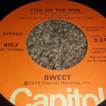 Sweet...On 45 RPM Vinyl - Records