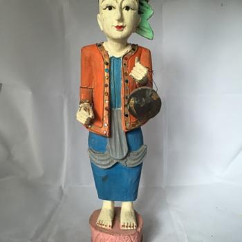 Gypsy Statue - Fine Art