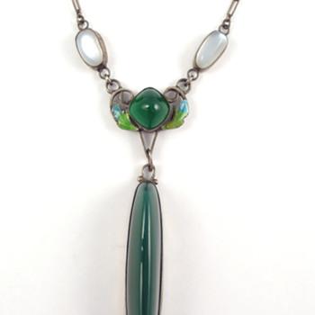George Hunt Arts & Crafts Necklace - Fine Jewelry