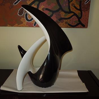 Avant garde ceramic sculpture  - Fine Art