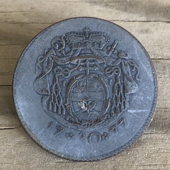 Metal clothing button - Sewing