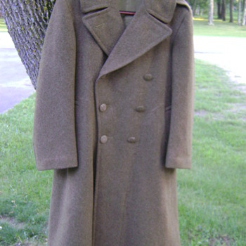 WWII US Army overcoat - Military and Wartime