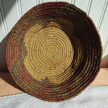 Native Basket from Montana