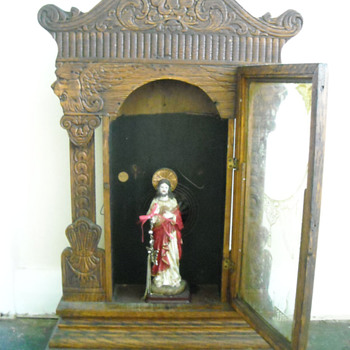 "William L Gilbert Clock Mantle ""Steamer #46"" Winged Lion - Jewel No 11 - Clocks"