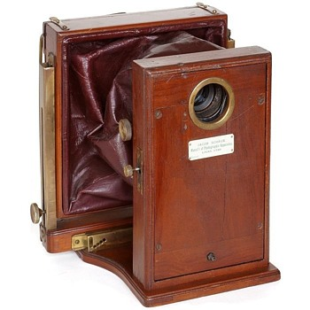 Schaub Multiplying Camera, c.1900 - Cameras