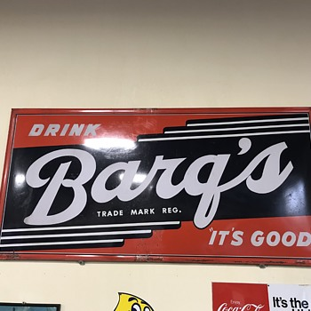 barqs root beer sign 8ft  - Signs