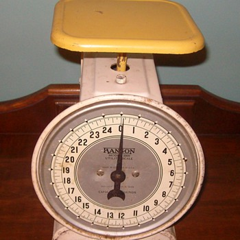 """Hanson"" Scale from the late 40's- early 50's - Tools and Hardware"