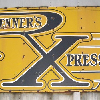 Renner's Express Sign - Signs