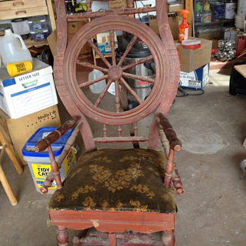 Early mechanical rocker?  - Furniture