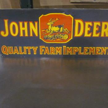 JOhn Deere metal sign - Signs