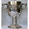 Sterling Silver Celtic Revival Chalice & Jugs by Christopher Dresser for Elkington & Co