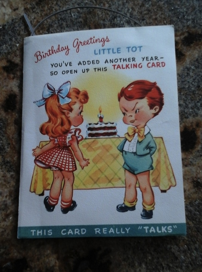 1948 Talking Birthday Card Collectors Weekly