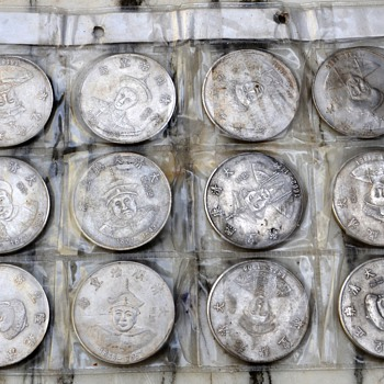 Silver Chinese Coins