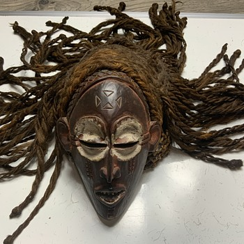 American mask - Fine Art