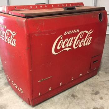 Coca-Cola WD-12 Westinghouse Cooler - Coca-Cola