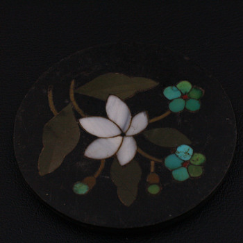 Pietra Dura stone without mounting - Fine Jewelry
