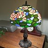 Stained Lead Glass Lamp