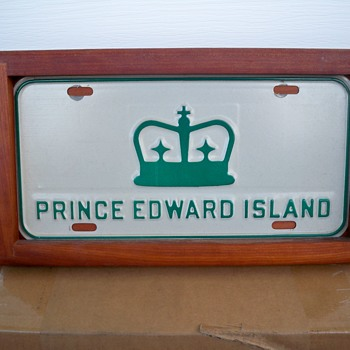 A royal license plate. - Politics