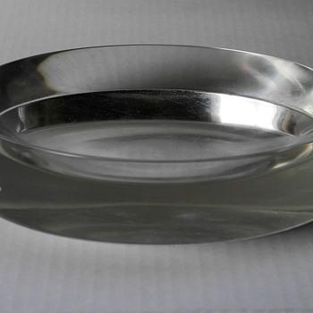 Scandinavian ? vintage  crystal bowl. - Art Glass