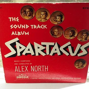 Soundtrack Week...#2...'Spartacus'...On 33 1/3 RPM Vinyl - Records