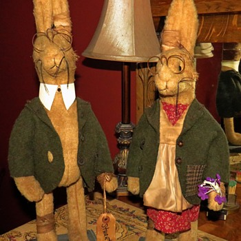 Meet Stuart and Mildred, Hare E. and Harriett - Animals