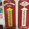 Royal Crown cola thermometers