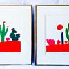 Daniel Gelakoska prints signed, matted and framed