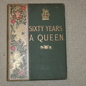 Sixty Years A Queen by Sir Herbert Maxwell, Harmsworth Bros. Ldt. - Books