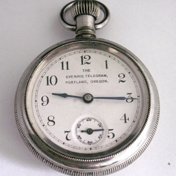 The Evening Telegram of Portland, Oregon - Pocket Watches