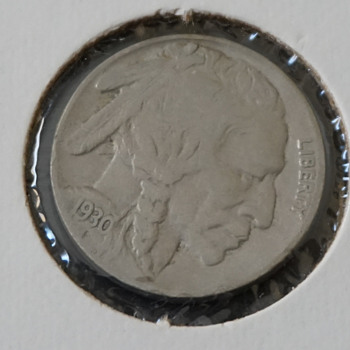 1930, 1935 & 1937 Buffalo Head Nickels