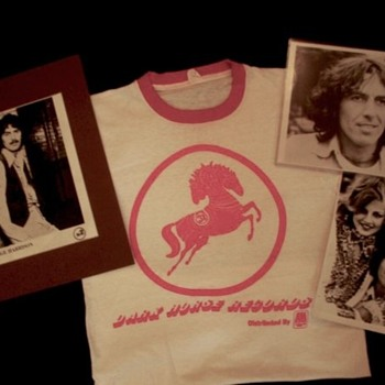"George Harrison owned and worn ""Dark Horse"" shirt-1974 - Music Memorabilia"