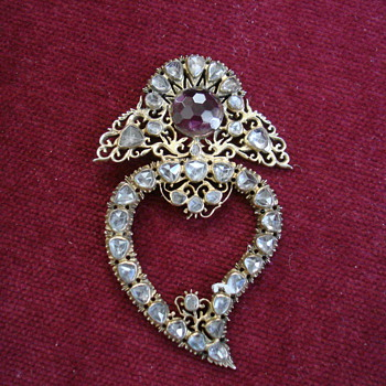 Georgian Witch's Heart - Fine Jewelry