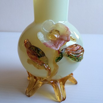 Italian, Czech or English , Victorian or Mid Century Vase - Art Glass