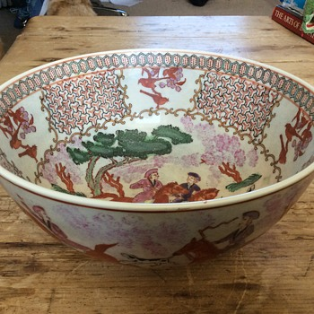 Porcelain bowl Xianfeng marks - Asian