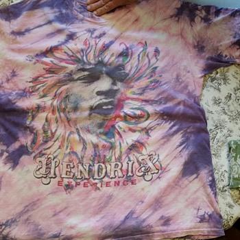 Jimi Hendrix t-shirt from 1960s?  help for info please - Music Memorabilia