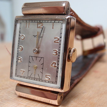 Wyler watch; 10K Lampwell case 1940's - Wristwatches