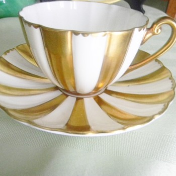 RARE Shelley Cup and Saucer  - China and Dinnerware