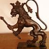 Antique Bronze Lion thing ???