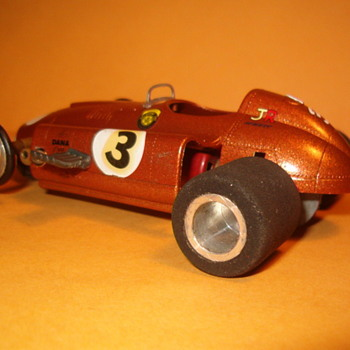 FERRARI D-50 DYNAMIC CHASSIS HAWK BODY - Model Cars