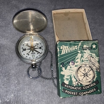 Mount Automatic Control pocket compass - Tools and Hardware