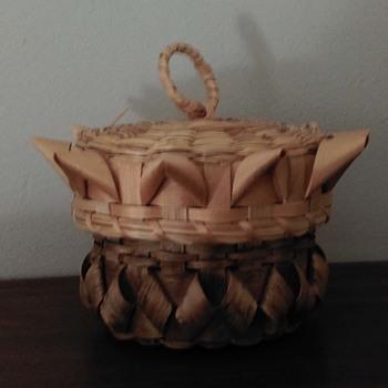 Poolaw basket - Native American
